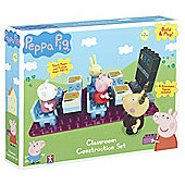 Peppa Pig Construction Classroom Set with Teacher