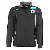 2013-14 Newcastle Puma Woven Jacket (Black) - Black