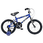 "Concept Spider 16"" Kids' Bike, Blue/Black"