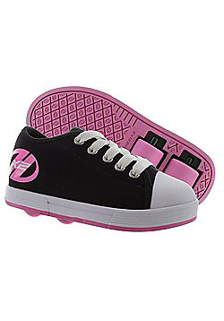 Heelys X2 Fresh - Black/Pink - Size - Junior UK 11 - Black