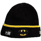 New Era Cap Co Pop Cuff Knit Beanie - Batman - Black