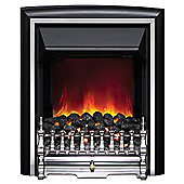 Comet 2kW Inset Electric Fire - Chrome