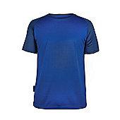 Endurance Mens Short Sleeved T-Shirt - Blue