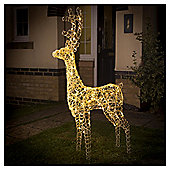 Light up LED Christmas Reindeer, Warm White
