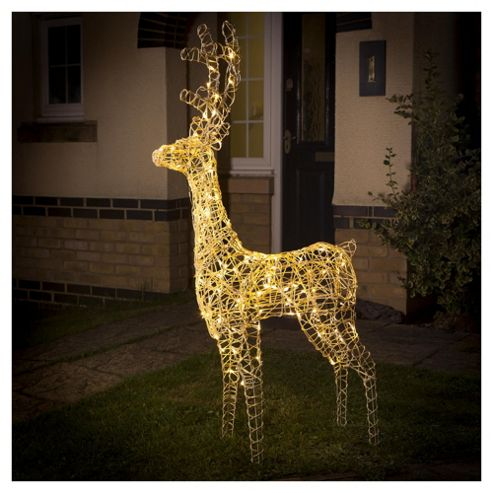 buy light up led christmas reindeer warm white from our. Black Bedroom Furniture Sets. Home Design Ideas