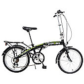 "Stowabike 20"" Folding Pro City Compact Foldable Bike - 6 Speed Shimano Gears"