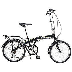 "Stowabike 20"" Folding Pro City Compact Foldable Bike - 6 Speed Shimano Gears"