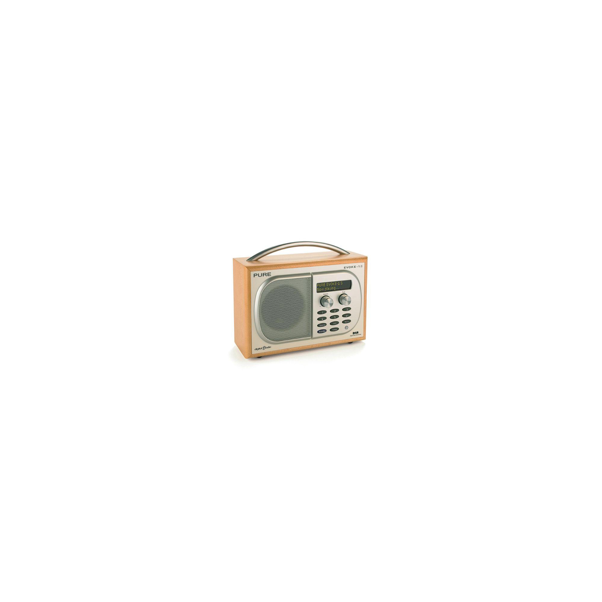 Pure Luxury Portable DAB Digital Radio - Maple