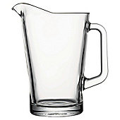 Tesco glass conical jug