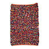 Ian Snow Shaggy Traditional Rug - 90 cm x 150 cm (2 ft 11 in x 4 ft 11 in)