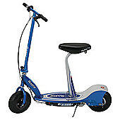 Razor E300S Seated Electric Scooter, Blue