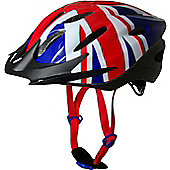 Kiddimoto Cycle Helmet - Union Jack - Medium