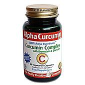 Really Healthy Company Alpha Curcumin Plus 60 Veg Capsules