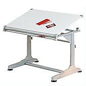 Chelmer Fully Adjustable Draftsman Desk / Workstation – White