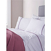 Pied A Terre Louisa Plum Single Duvet Cover Set