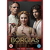 The Borgias - Season 3 (DVD Boxset)
