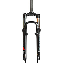 SR Suntour XCT-V4-V 26inch Suspension Fork: 180mm Threaded Black