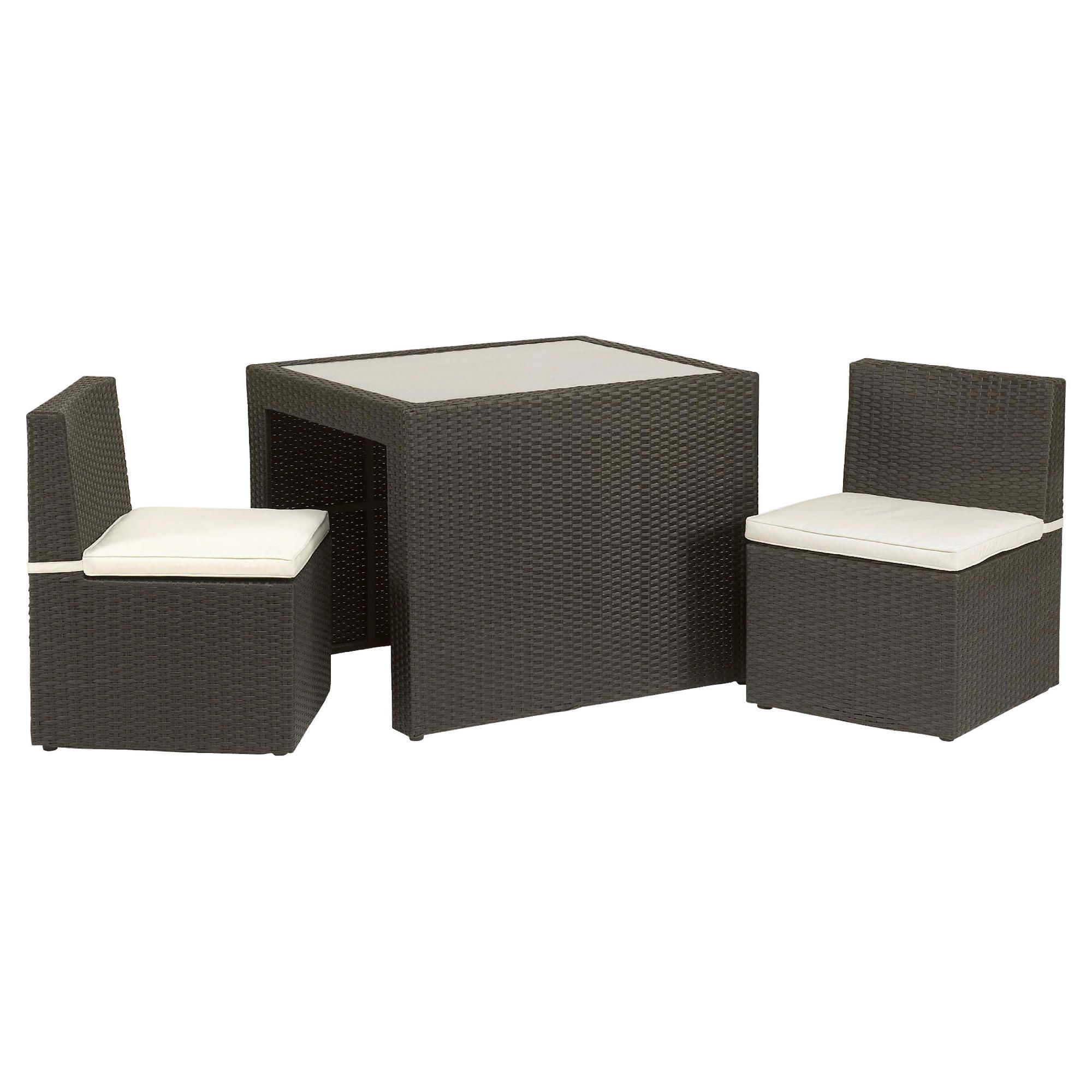 Royalcraft Cannes Breakfast Set - Brown at Tesco Direct