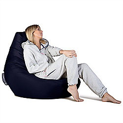 Big Bertha Original™ Indoor / Outdoor Highback Bean Bag - Navy