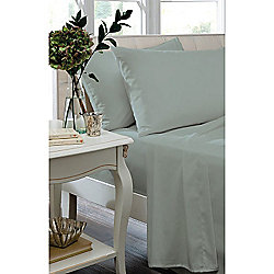 Catherine Lansfield Duck Egg Blue Fitted Sheet - Single