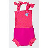 Splash About Happy Nappy Costume Small (Pink Mango Dot)