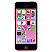 Tesco Mobile Apple iPhone 5c 8GB Pink