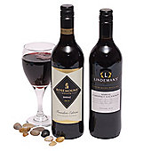 two bottles australian red wine (OA33)
