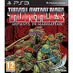 Teenage Mutant Ninja Turtles 2016 PS3