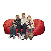 Ashcroft Indoor Large Bean Bag Sofa - Blue