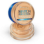 Rimmel London Match Perfection Cream Gel Foundation 18ml Sand (300)