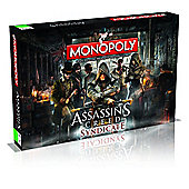 Monopoly Assasins Creed Syndicate Game