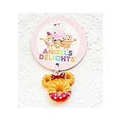 Children's Dotty Bow Cookie Clip on Charm