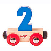 Bigjigs Rail BR132 Name Number 2 (Colours Vary)