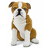 Melissa And Doug English Bulldog Dog Giant Plush