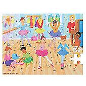 Bigjigs Toys BJ040 Ballet School Puzzle (48 Piece)