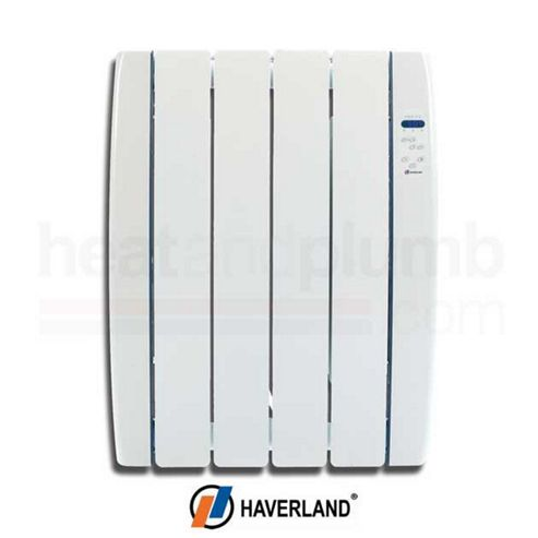 Haverland RC4TT Thermo Dynamic Gel Designer Electric Radiator 0.5kW with Digital Thermostatic Controls