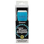 WowThem Mighty Music Engine Bluetooth Speaker White/Blue