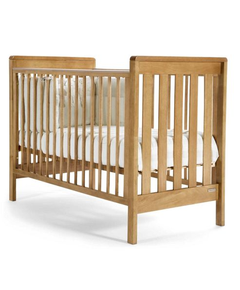 Mamas & Papas - Pebble Cot - Golden Oak
