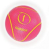Reebok Medicine Ball - Magenta 1kg