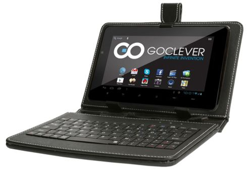 GoClever R76102 7 Inch Tablet HD Display Bundle with Keyboard and Case: 512MB/4GB