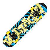 Voltage Psycho Blue Complete Skateboard