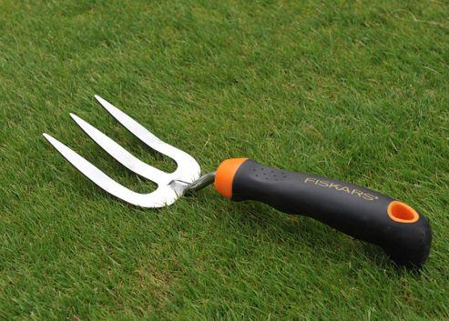 Fiskars stainless steel hand fork