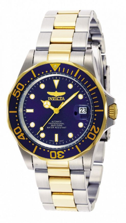 Invicta Pro Diver Mens Stainless Steel Date Watch 8928