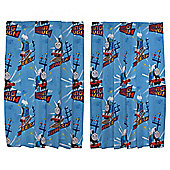 "Thomas the Tank Engine Curtains W168xL183cm (66x72"")"