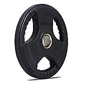 Bodymax Olympic Rubber Radial Weight Disc Plate - 10kg