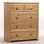 Home Essence Hamilton 2 Over 3 Drawer Chest