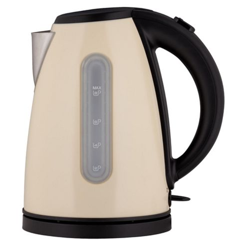 Tesco JKL11B 3kW Jug Kettle - Cream
