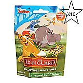 The Lion Guard Collectible Mini Figure Blind Bag Series 3 - 10 Bags Supplied