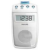 Philips AE2330 Bathroom Radio - White
