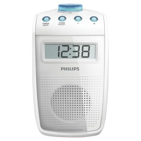 Philips AE2330 Bathroom Radio - White